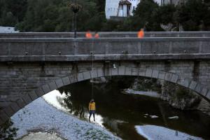 impiccata sotto il Ponte del Diavolo a Cividale del Friuli - backstage libro di Alberth Mayhem