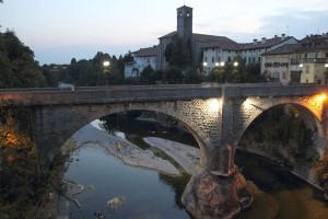 Posizionamento del'impiccata sotto il Ponte del Diavolo a Cividale del Friuli narrata nel libro di Alberth Mayhem