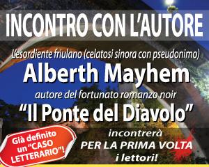 Alberth Mayhem incontra per la prima volta i lettori