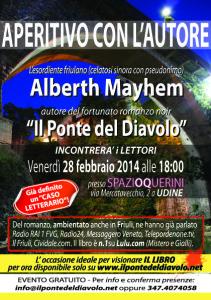 Aperitivo con Alberth Mayhem - 28.2.2014 - UDINE