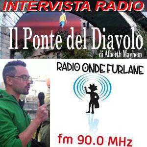 Alberth Mayhem su Radio Onde Furlane