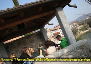 Borgo Brossana, lettura ad alta voce nei pressi di San Biagio