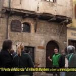"""Passeggiata con Alberth Mayhem sui luoghi del romanzo noir """"Il Ponte del Diavolo"""" a Cividale del Friuli"""