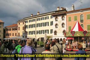 1 giugno 2014 a Cividale del Friuli - Giro d'Italia e passeggiata con Alberth Mayhem