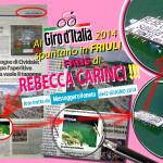 Rebecca Carinci al Giro d'Italia