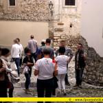 Passeggiata con lo scrittore Alberth Mayhem a Cividale del Friuli