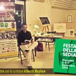 Incontro con lo scrittre Alberth Mayhem alla Festa della Sedia 2014 - Manzano (UD)