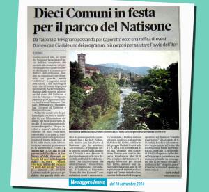 10 Comuni scelgono anche lo scrittore Alberto Misano (Alberth Mayhem) per promuovere il Natisone - Messaggero Veneto