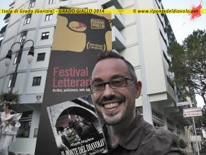 Alberto Misano (Alberth Mayhem) a Grado Giallo 2014