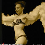 La burlesque performer Sweet Pepper