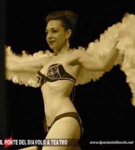 La burlesque performer Sweet Pepper