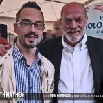 Alberth Mayhem incontra il giornalista Toni Capuozzo