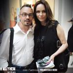 Alberth Mayhem incontra l'attrice Francesca Neri