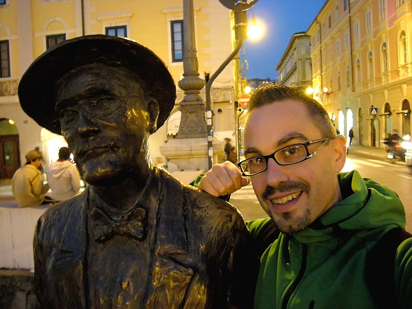 Alberth Mayhem e James Joyce a Trieste - Ponte Rosso