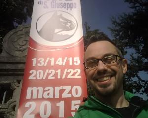 Alberto Misano alla festa di S.Giuseppe a Percoto (UD)