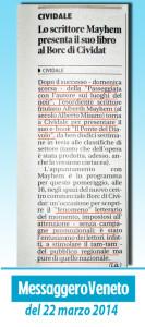 """Alberth Mayhem al centro commerciale """"Borc di Cividat"""""""