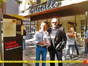 Con Franco Forte (Mondadori) al festival letterario Grado Giallo
