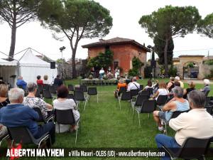 Presentazione al Parco di Villa Maseri a Oleis - UDINE