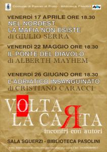 Volta la Carta 2015 - Incontri con l'autore a Pasian di Prato (UDINE)